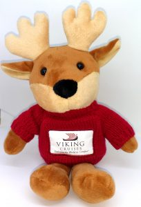Viking Cruises branded soft toy